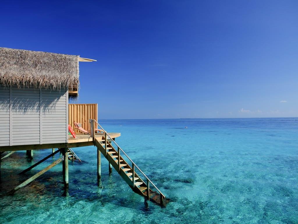 Centara Ras Fushi Maldives Deluxe Sunset Water Villa