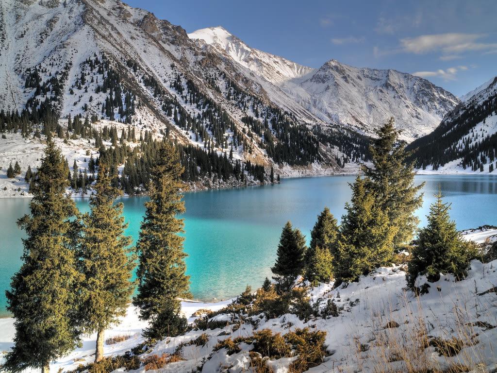 Scenery in Almaty, Kazakhstan