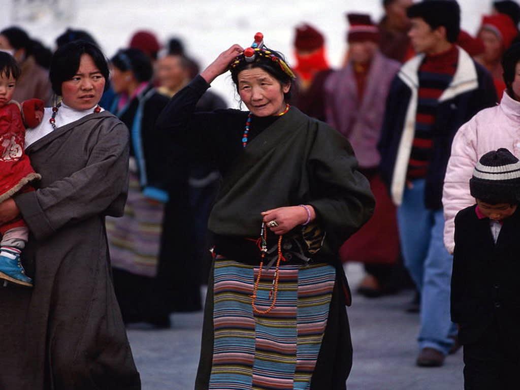 Locals in Tibet