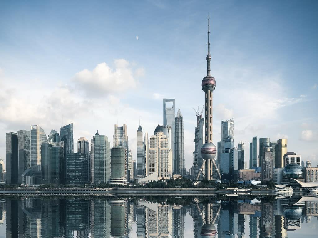 Shanghai Skyline 1024