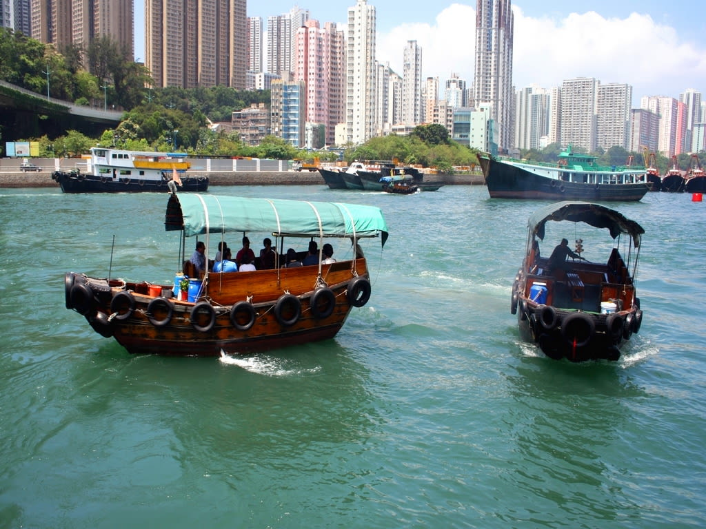 Hong Kong Sampan Ride 1024