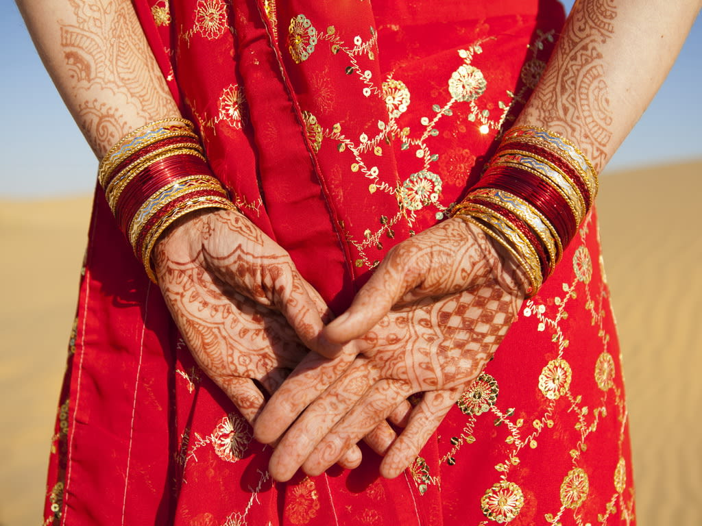 Indian Culture Henna Hands 1024