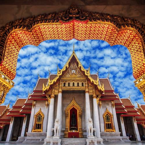 Wat Benchamapolit Bangkok Thailand 500