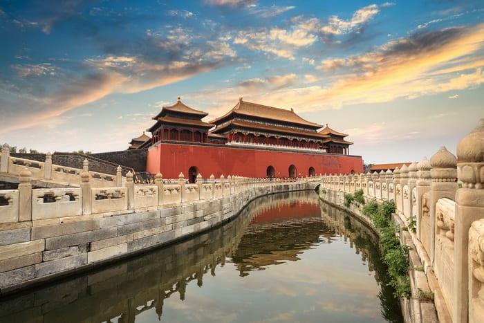 Forbidden City Beijing700
