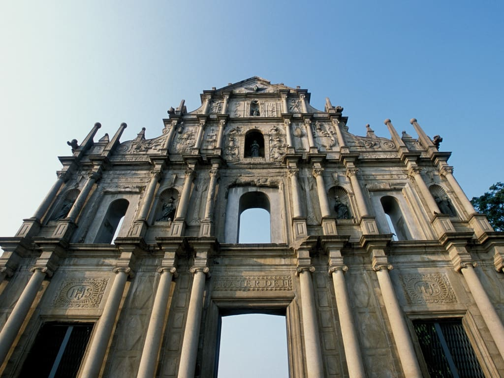 Ruins of St Paul Macau