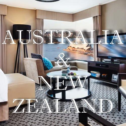 Australia & New Zealand - Hotels