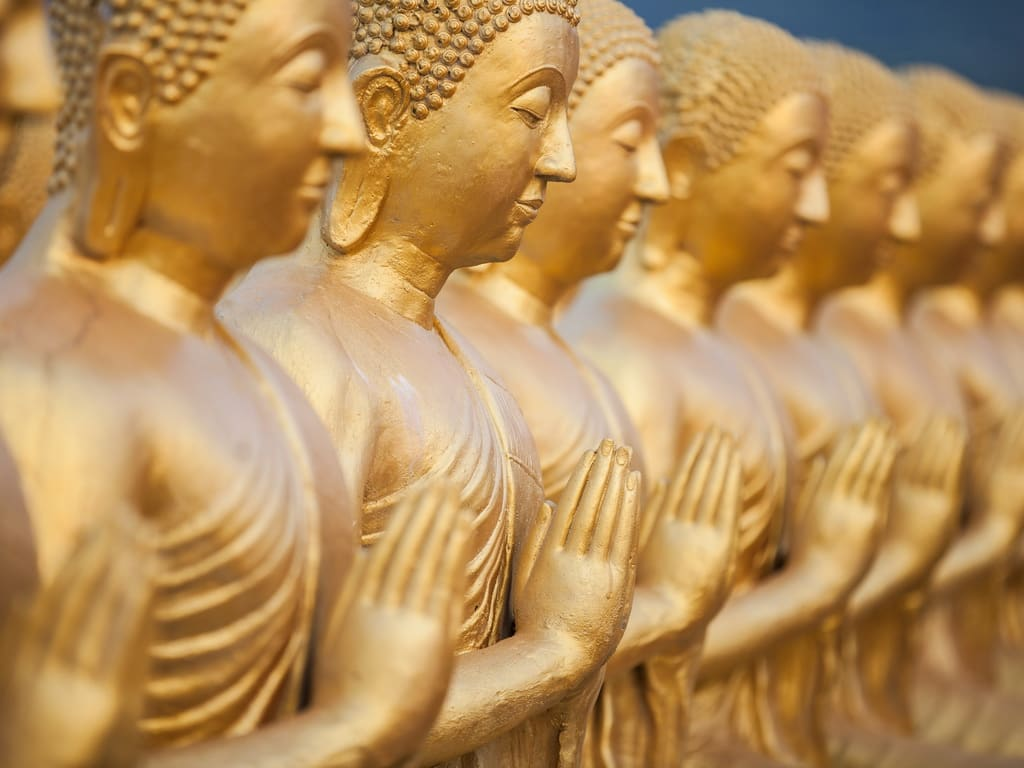 Gold Buddha Images Thailand 1024
