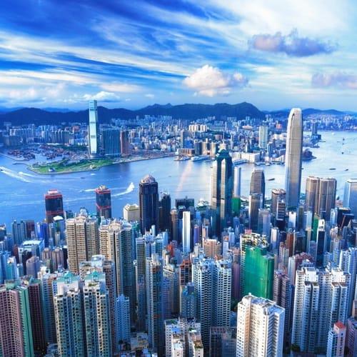 Hong Kong Cityscape 500