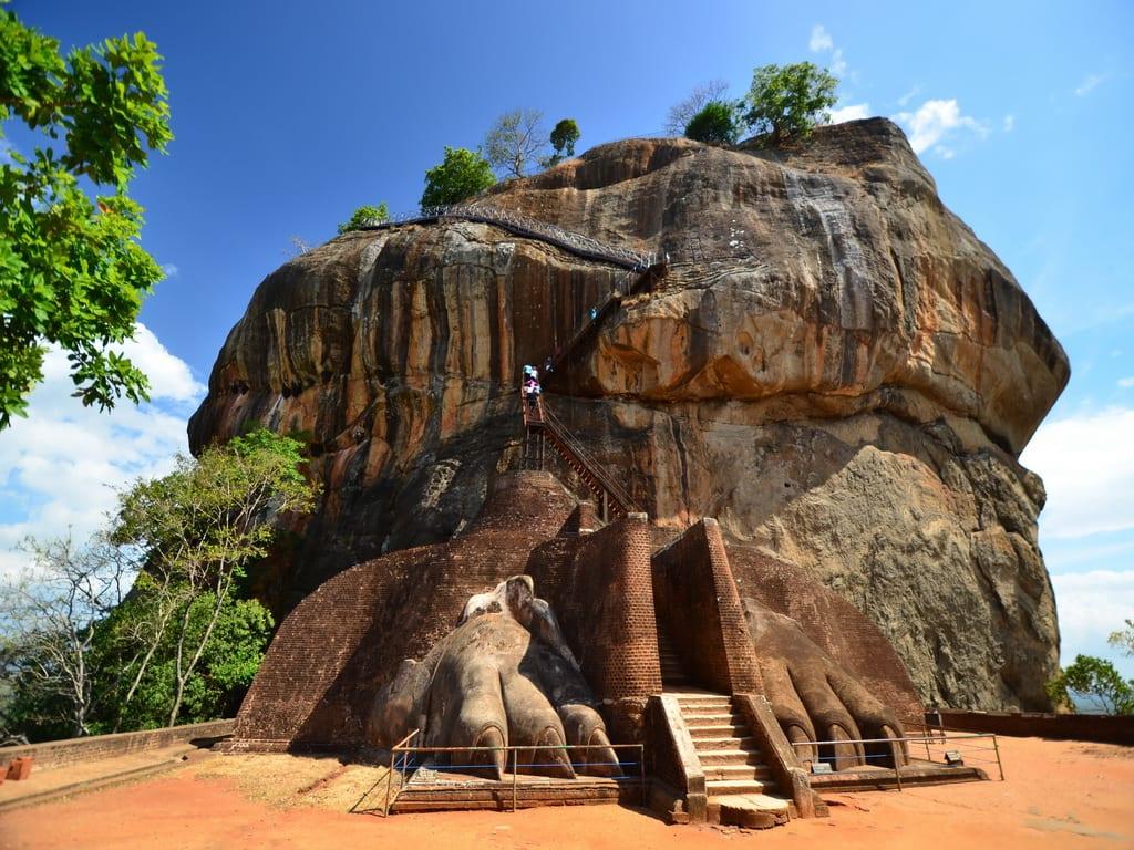 Sigiriya Lion Rock Fortress in Sri Lanka 1024