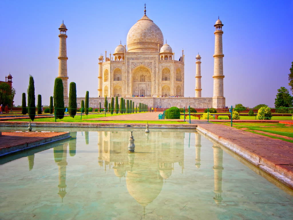 Globotours Taj Mahal The Tigers Of India I Globotours Watermelon Wallpaper Rainbow Find Free HD for Desktop [freshlhys.tk]