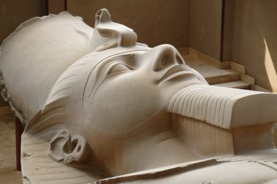 Egypt; Memphis; Ramesses II Statue
