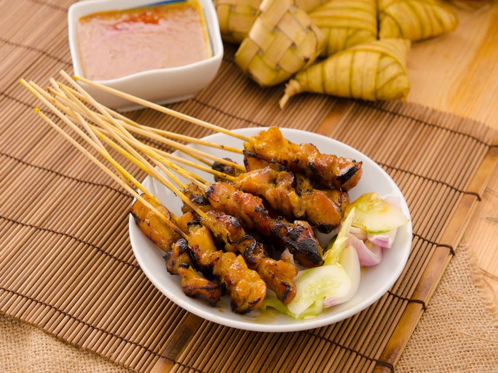 Satay, Traditional Food in Malaysia 1024