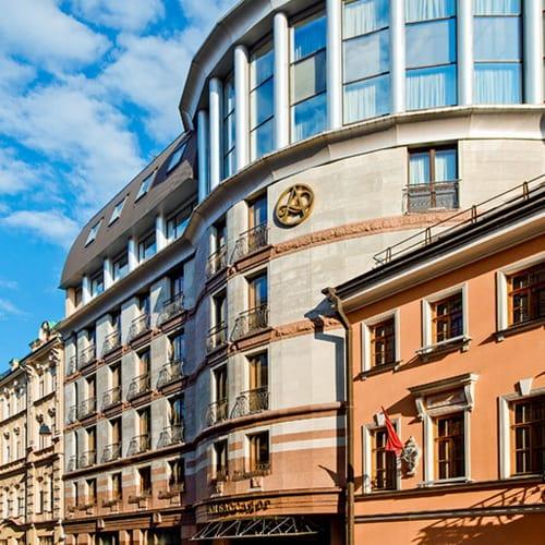 Ambassador St Petersburg Facade 500