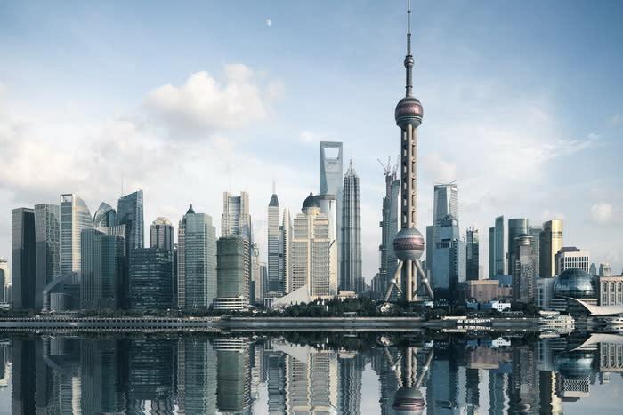 Shanghai Skyline700