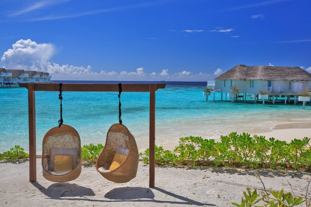Centara Grand Island Maldives  Beach