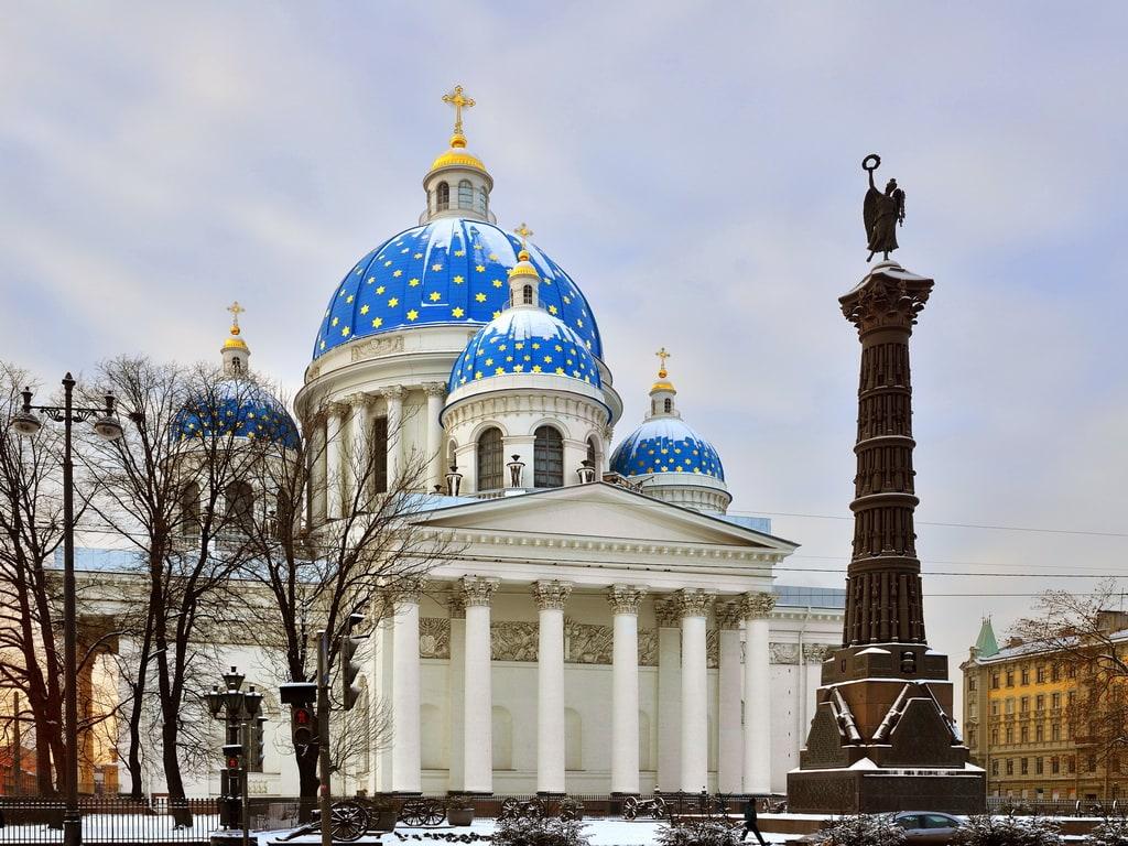 Church at Saint Petersburg 1024