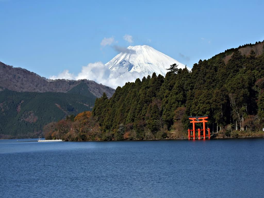Lake Ashi Fuji 1024