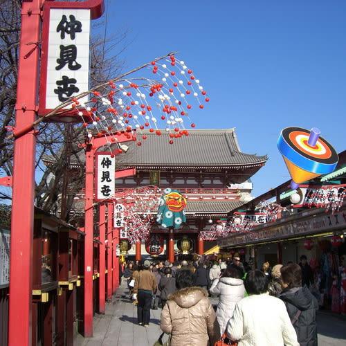 tokyo Sensoji temple500