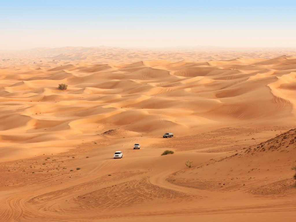 Desert Dunes of Dubai