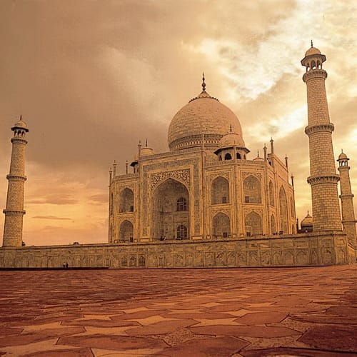 Golden Triangle of India500