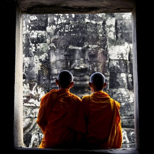 Monks at Angkor500