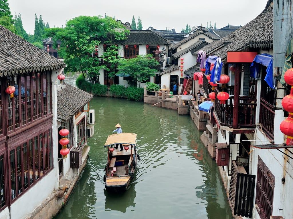 Zhujiajao Water Town Shanghai 1024