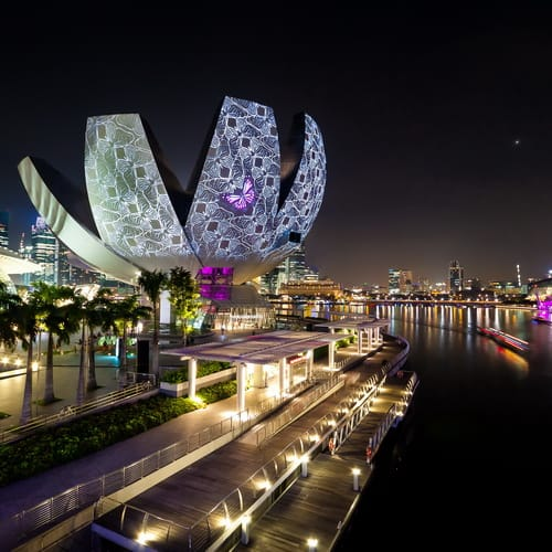 Marina Bay Art Museim500